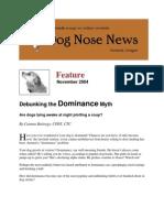 Debunking the Dominance Myth
