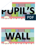Pupils Wall