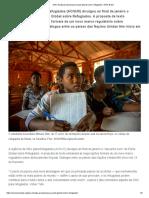 ONU Divulga Proposta Para Pacto Global Sobre Refugiados _ ONU Brasil