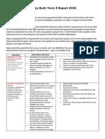 kelseys term 4 -  6 standards report template