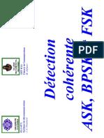 Detection Coherente ASK BPSK FSK