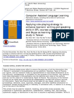 3 Teaching Speaking by Role-play Activity