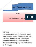 askep nifas ppt