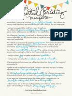DaringGreatly-ParentingManifesto of Brené Brown Brown