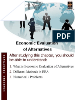 EE_L9 to L10_Economic Evaluation of Alternatives_ Present Worth Method