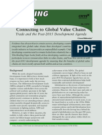 Connecting to Global Value Chains