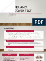 1. Cover and Uncover Test
