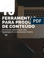 10 Ferramentas de Conteudo - Marketing Digital