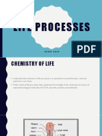 Lecture # 3. Life Processes