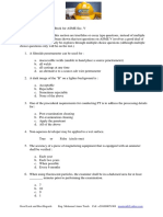 Asme Section v Asme 16.5 Asme b31.3- Questions and Answers