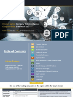 3I INFOTECH LTD.  Company Profile Report, 2018
