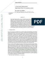 Adversarial Training Methods for Semi-Supervised Text Classification