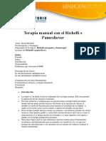 Terapia Manual Con El Richelli s Painreliever