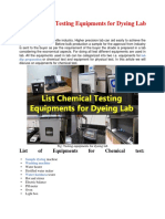 List Chemical Testing Equipments for Dyeing Lab.docx