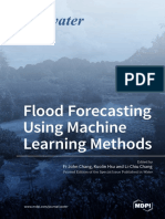 Flood Forecasting Using Machine Learning Methods