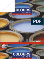 Hempel Colourcard Colours