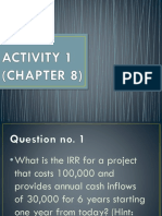 Chapter 8 Activity 1