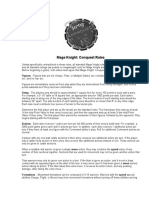 Mage Knight - Conquest Rules