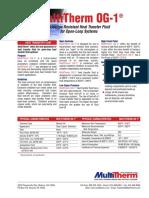 MultiTherm OG-1® Tech Data