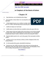 The Rest of the Chapters of the Book of Esther