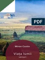 Miron Costin - Viata Lumii