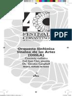 Orquesta Sinfonica Sinaloa de Las Artes 20