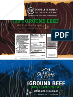 Product Labels for Recalled Beef