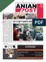 Albanian Post - MARS Copy