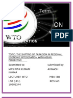 Wto Term Paper(Roll No-10)