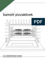 Samott pizzakövek