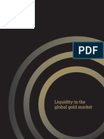 Liquidity in the Global Gold Market