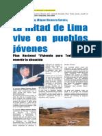 02 04Llima Vive Pueblos Jovenes Plan Nacional Vivienda Para Todos Revertir Situacion