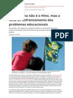 o Problema Nao e o Hino Mas a Falta de Enfrentamento Dos Problemas Educacionaispdf