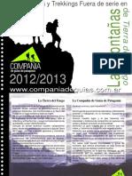 Catalogo Montañas de TDF