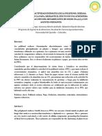 INHIBICIÓN DE LA ACTIVIDAD ENZIMÁTICA DE LA POLIFENOL OXIDASA (PPO)
