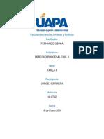 TAREA II. PROCESAL CIVIL II,  UAPA.docx