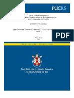 COLLA, Rodrigo Avila. Animalidade e Educação Moral - Cenas Da Vida Selvagem Na Escola