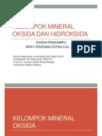 03_kelompok Oksida Dan Hidroksida