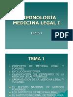 Criminolog a - Medicina Legal