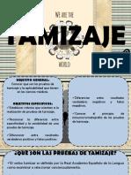 TAMIZAJE DIAPOS OFICIALES