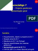 Curso Técnico de Geomensura