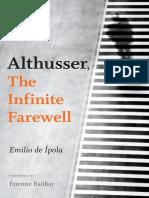 Emilio de Ípola - Althusser, The Infinite Farewell (2018, Duke University Press).pdf