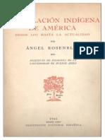 La Población Indígena en América, 1492-1945