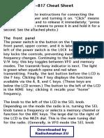 FT-817 User Guide