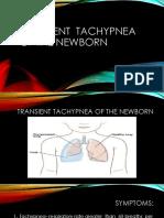 Transcient tachypnea