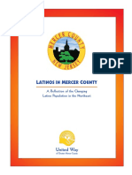 Latinos in Mercer County A Reflection of the Changing Latino Population in the Northeast