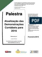 Palestra CRC Fev. 2016