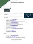 Outstanding Open Water Swimming Websites