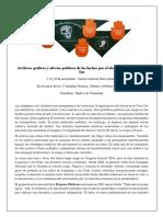 Archivos Graficos y Afectos Políticos... Texto de sala