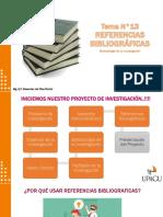 Metodología de la Investigación - Referencias Bibliográficas